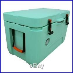 Lerpin 50 Quart Tiffany Blue Cooler, New