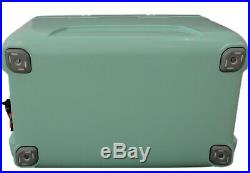 Lerpin 70 Quart Seafoam Green Cooler with Themometer