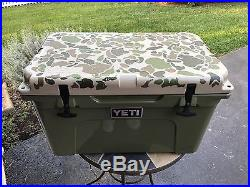 Limited Edition Camo YETI Cooler Tundra 45 1/250 Made Gently Used