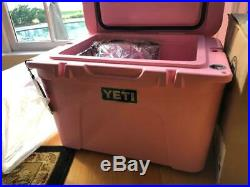 Limited Edition PINK Yeti Cooler -Tundra 35
