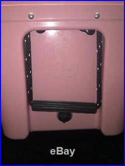 Limited Edition Pink Yeti 35qt Tundra Cooler With Pink Hat (Discontinued)