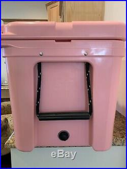 Limited Edition Pink Yeti Tundra 50 Cooler