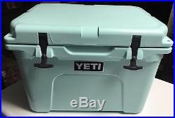 Limited Edition Seafoam Yeti Tundra 35 qt Cooler Brand New In Box Sea Foam Green