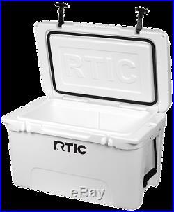 NEW 2017 RTIC 20 45 65 Cooler Arctic White / Mojave Tan FREE SHIPPING YETI