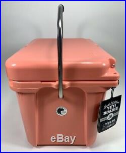 NEW Authentic YETI Roadie 20 Coral Cooler RARE Limited Edition Color READ NOTES