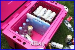 NEW COLD BASTARD PRO SERIES ICE CHEST BOX COOLER YETI QUALITY Free s&h 50L PINK