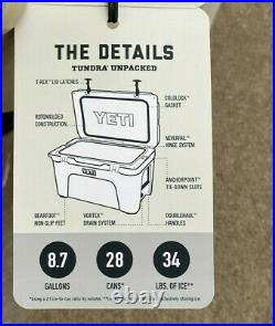 NEW FACTORY SEALED IN BOX YETI Tundra 45 Hard Cooler (DESERT TAN)