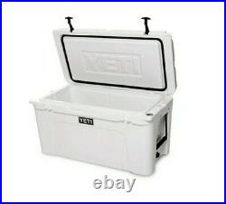 NEW IN BOX White YETI Tundra 125 Hard Cooler