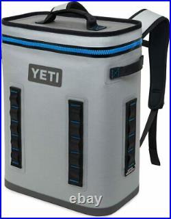 NEW IN BOX YETI Hopper Backflip 24 Soft Sided BackPack Cooler Fog Gray