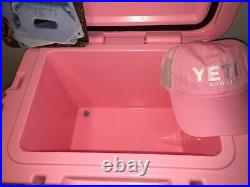 NEW Limited Edition YETI Roadie 20 LE PINK Hard Cooler Limited Edition