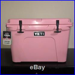 NEW! PINK YETI Cooler Limited Edition Tundra 50 With Pink Yeti Hat