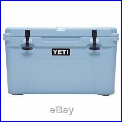 NEW YETI Cooler Tundra 45 Ice Blue Camping Car Truck Boat 25.5x16x15.5 NO TAX