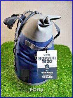 NEW YETI HOPPER M30 Soft Sided Cooler NAVY
