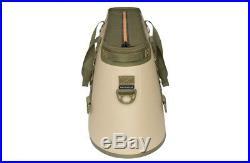 NEW YETI Hopper 30 Cooler Portable Cooler Bag Tan Orange with Sidekick