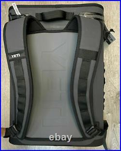 NEW YETI Hopper Backflip 24 Soft Sided BackPack Cooler Charcoal