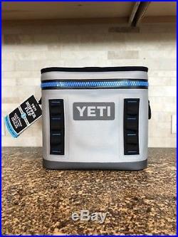 NEW YETI Hopper Flip 8 Cooler, Fog Gray/Tahoe Blue
