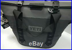NEW YETI Hopper M30 Soft Side Portable Cooler MAGNETIC SEALCHARCOAL GREY 3130