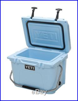 NEW! YETI Roadie 20 Hard Cooler YR20B Ice Blue 10020020000