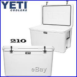 NEW! YETI Tundra 210 qt Cooler WHITE Hard Side Ice Chest - Tundra210