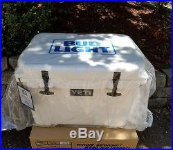 NEW! YETI Tundra 35 Quart Hard Cooler Limited Edition BUD