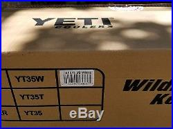 NEW! YETI Tundra 35 Quart Hard Cooler Limited Edition BUD LIGHT White