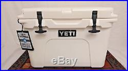 NEW! YETI Tundra 35 qt Cooler WHITE Hard Side Ice Chest FREE SHIPPING! YT35W