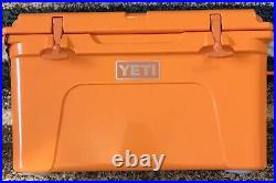 NEW! YETI Tundra 45 King Crab Cooler Limited Edition CLEMSON TIGERS TRIBUTE