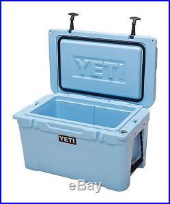 NEW! YETI Tundra 45 qt Cooler - ICE BLUE - Hard Side Ice Chest - YT45B