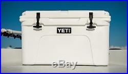 NEW! YETI Tundra 45 qt Cooler White Hard Side Ice Chest YT45W! AUCTION
