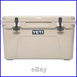 NEW YETI Tundra Cooler White, Tan, & Blue Choose Size & Color FREE SHIPPING