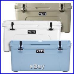 NEW YETI Tundra Cooler White/Tan/Blue Choose Your Size & Color FREE SHIPPING