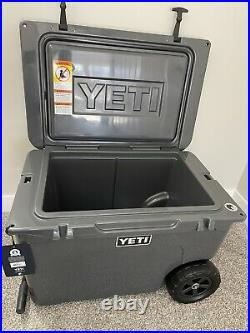 NEW YETI Tundra Haul Charcoal Hard Cooler Discontinued Rare Color