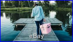 NEW Yeti Roadie 20 Pink Hard-Side Cooler Ice Chest FAST SHIPPING! YR20PNK