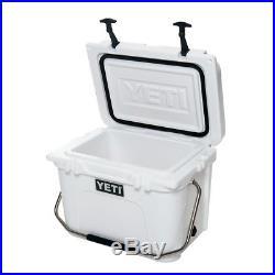 NEW Yeti Roadie 20 Travel Cooler / Icebox / Container White
