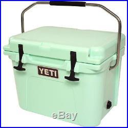 NEW Yeti Roadie 35 Quart Seafoam Green Hard-Side Cooler Ice Chest FREE YETI ITEM