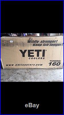 NEW Yeti Tundra 160 White Hard-Side Cooler Ice Chest