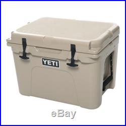 NEW Yeti Tundra 35 Quart TAN Hard-Side Cooler Ice Chest FAST SHIPPING! YT35T