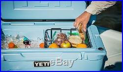 NEW Yeti Tundra 65 Quart BLUE Hard-Side Cooler Ice Chest FAST SHIPPING! YT65B