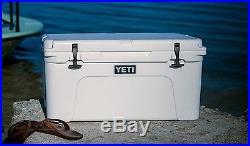 NEW Yeti Tundra 65 Quart WHITE Hard-Side Cooler Ice Chest FAST SHIPPING! YT65W
