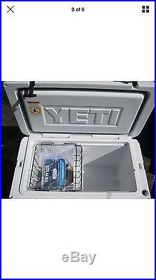 NEW Yeti Tundra 65 Quart WHITE Hard-Side Cooler YT65W