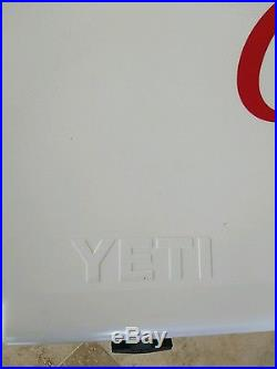 NEW Yeti Tundra 75 Quart Hard-Side Cooler Ice Chest with Coca-Cola desig