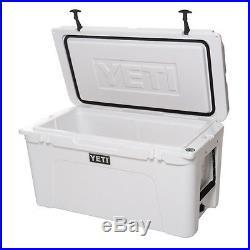 NEW Yeti Tundra 75 Quart White Hard-Side Cooler Ice Chest