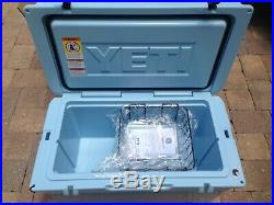 NIB! YETI Tundra 65 Cooler Limited Ice Blue Color YT65T RARE WOW