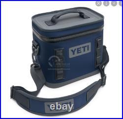 NWOT YETI Hopper Flip 8 Portable Soft Cooler Navy Model YHOPF8