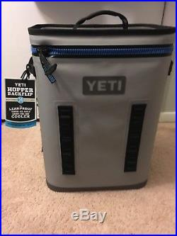 NWT YETI Hopper BackFlip 24 Backpack Cooler + 5 matching Yeti Rambler Colsters