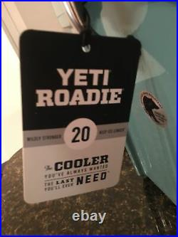 NWT YETI Roadie 20 Hard Cooler River Green (Rare-Discontinued)