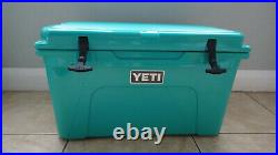 New 2021 YETI Tundra 45 Blue Cooler Limited Edition Color AQUIFER BLUE