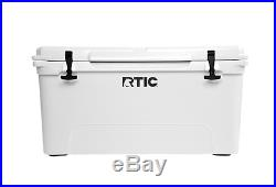 New RTIC Brand 65 Cooler Color Artic White Beer Bottle Storage YETI Great Gift