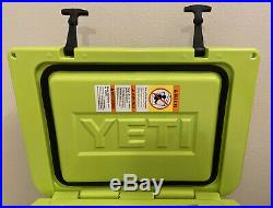 New Rare Yeti 35 Tundra Cooler Chartreuse Color Limited Edition! New In Box