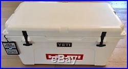 New! Rare Yeti Cooler Tundra 65, Hilti Branded Color White